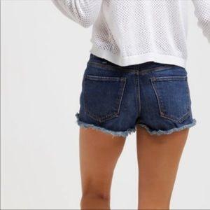 Free People Denim Cut Offs Jean Shorts Size 28